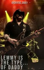 ✦Lemmy Kilmister is the type of Daddy✦ #HairRock [Completa] by candeXD288