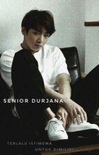 Senior Durjana (Bad Senior) - JJK by taenutella