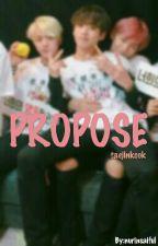 Propose [TaeJinKook x Reader] by nurinsaiful