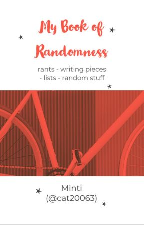 My Book of Randomness by cat20063