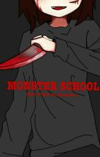 Monster School - Onde Os Monstros Vivem by Kisune_Pixel