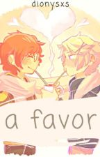 A Favor  >> Yooseven by dionysxs