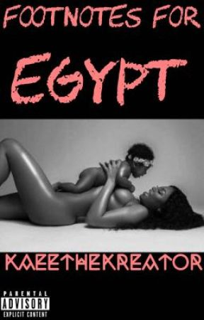 Footnotes For Egypt by BooksByBam