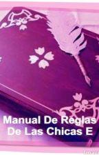 Manual De Reglas De Las Chicas E by Danylodofan