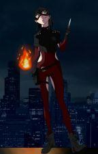 DC fanfiction:Pyro Witch (HUN) by LorieDark