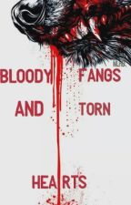 Bloody Fangs And Torn Hearts[underfell!sansxwolf!reader]///DISCONNECTED/// by GayLonelyTrash