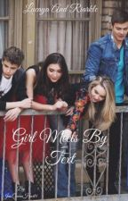 Girl Meets By Text by JessHartist
