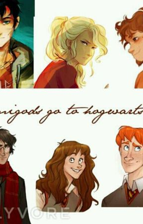 Demigods go to hogwarts by Miss_Ravenclawqueen