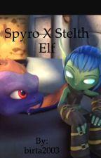 Spyro x stelth elf by birta2003