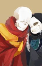"Altertale (Papyrus X Sans) ""Adolescense"" [Fontcest] by Megalochan01"