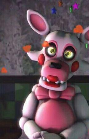 toy foxy mangle x hybrid mind reader animatronic oc x animatronic