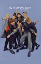 My brother's team                             • Bts fanfiction • by iamNina_