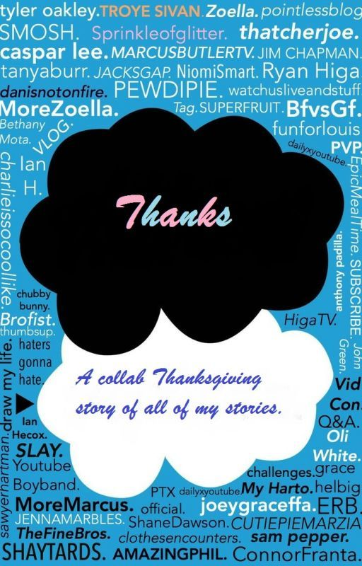 Thanks // A Collab Of All Of My Stories by SunmayFanfiction