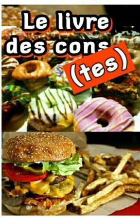 LE LIVRE DES CONS-tes by Desmillionsdevues