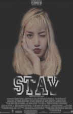 STAY • » chae + lisa « AU! by bEEaEv