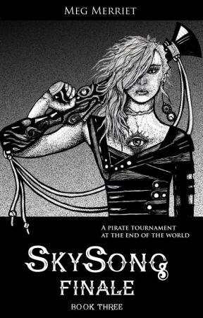 Sky Finale (Fantasy Steampunk Novel) by MegMerriet