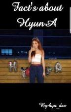 Fact's about Hyuna by hyu_daa