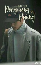 Dongsaeng Vs Hyung : Jihyo. (✔) K.S.J. by unknow_94