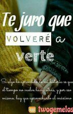 TE JURO QUE VOLVERÉ A VERTE (Gemeliers) by twogemelos
