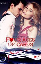 Four Aces Of Cards by milkiouais