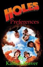 Holes preferences by KallistaBeaver