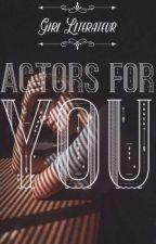 Actores para tus libros by CeleKawaii4