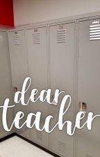 dear teacher, :: lashton au by noctivagant