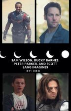 Avengers preference [ Bucky Barnes, Sam Wilson, Scott Lang, and Peter Parker] by AstronautInTraining