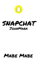 snapchat ~JohnMark~ by DestructionAndDrugs