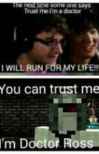 Minecraft YouTubers one shots by thebluekittycat