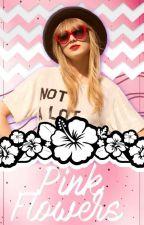 Pink flowers:Graphics tutorials by shikkarii