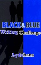 Black and Blue Writing Challenge by aydahana