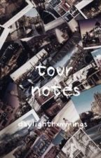 tour notes (sequel to locker notes) - luke hemmings [italian translation] by xadovreashton