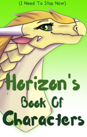Horizon's Book of Characters by HorizonHarmony