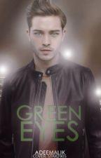Green eyes by AdeeMalik