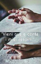 """Vieni qua e conta i miei respiri."" || Marco Mengoni by Robs26"
