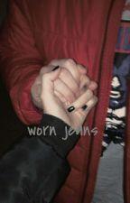' worn jeans ' by GALADGGUK