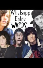 Whatsapp entre wapos (ellos y tu ) by catalaina2106