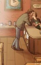 Oops, I fell in love (coffee shop AU) by flavoredteaa