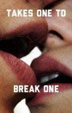 Takes one to break one// Chris Schistad by heartbreakwriter27