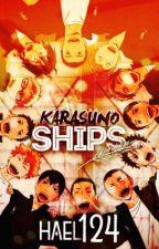 Karasuno Ships by hael124