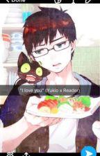 """""""I Iove you."""" (Yukio x Reader) by Lillyjunebug"""