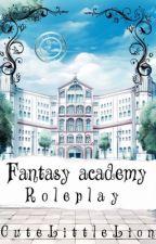 Fantasy Academy RP by CuteLittleLion