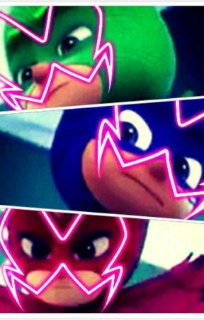 Dark Masks (Miraculous Ladybug And PJ Masks Fanfic) (English