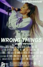wrong things {ljp + zjm} by seokjinsexual