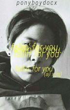 fallin' for you by ponyboydocx