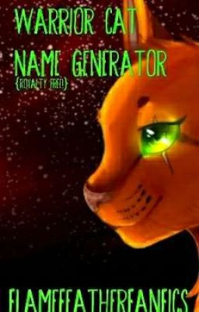 warrior cats name generator - Name by favorite villain and