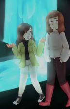 La chica detrás de la puerta. Storyshift Chara X Lectora by Cherry-bae
