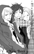 - New Boys - bully!BTT x loner!bullied!READER by momoyaharuse