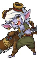 Mi yordle peliblanca - Tristana x (¿Teemo/Rumble?) by Sweet-Pillow